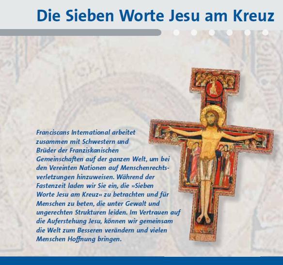 Jesu Worte Am Kreuz